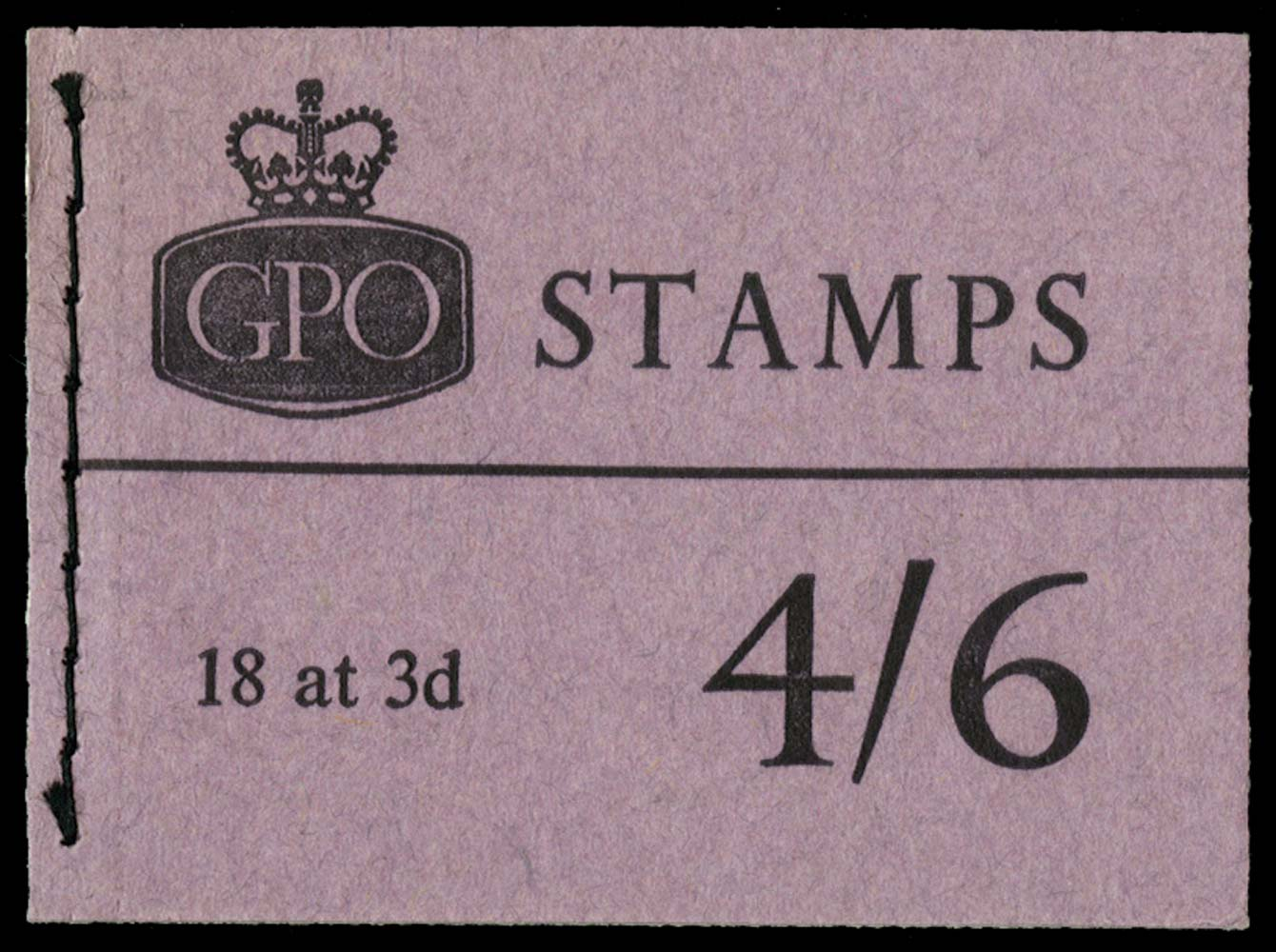 GB 1962  SGL33 Booklet