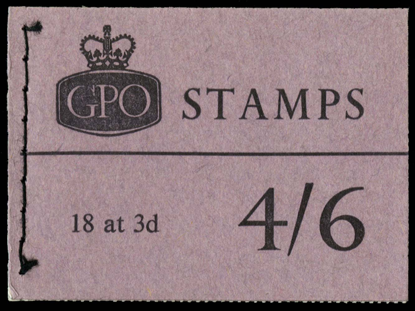 GB 1962  SGL34 Booklet