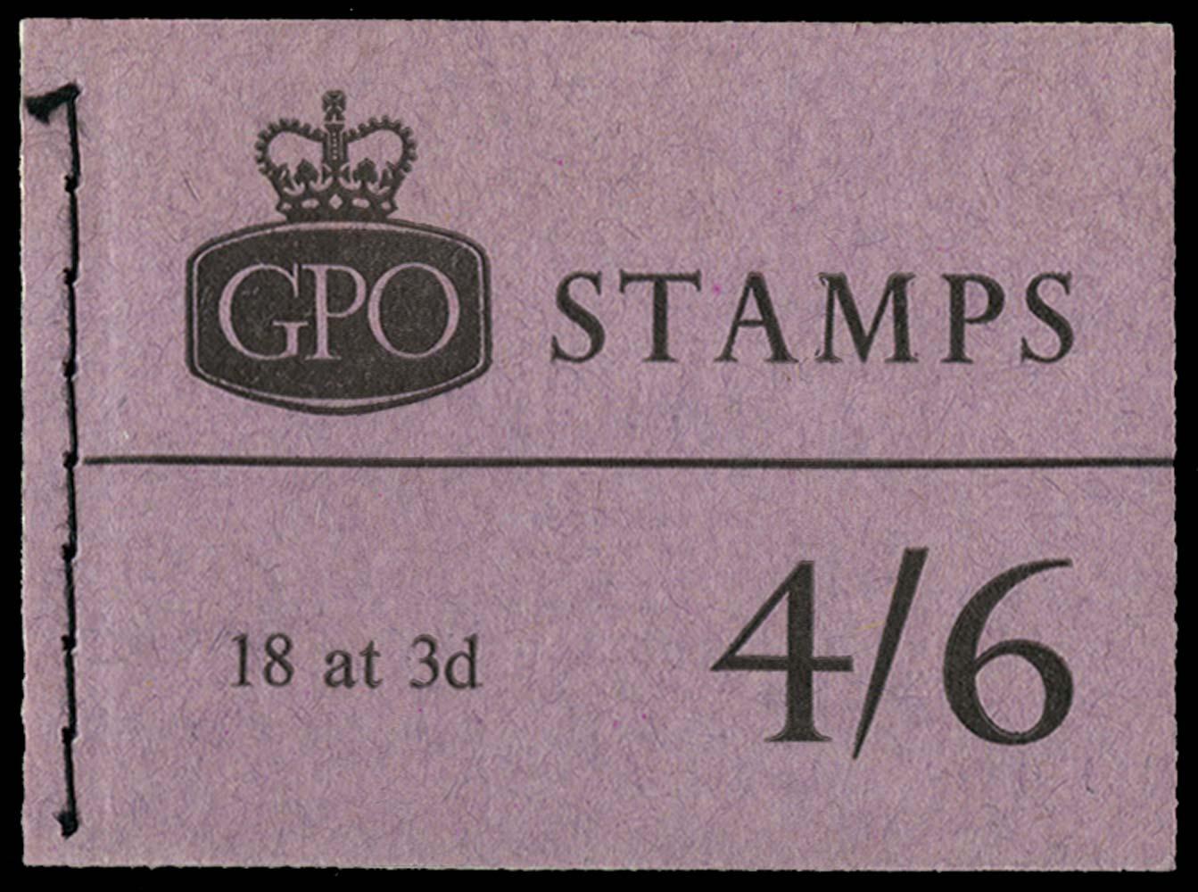 GB 1964  SGL44p Booklet