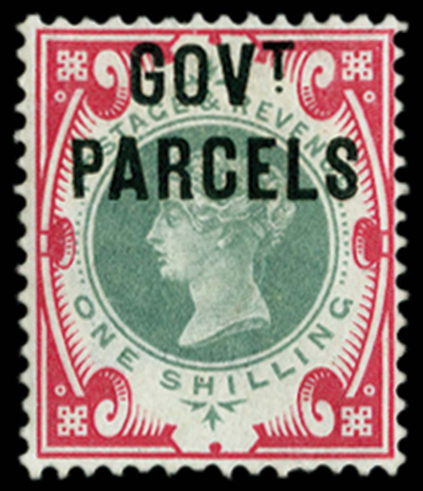 GB 1900  SGO72 Mint