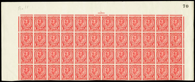 GB 1912  SG341var Mint