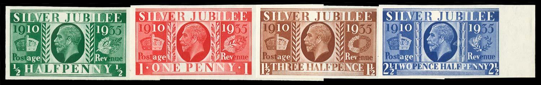 GB 1935  SG453/6var Mint