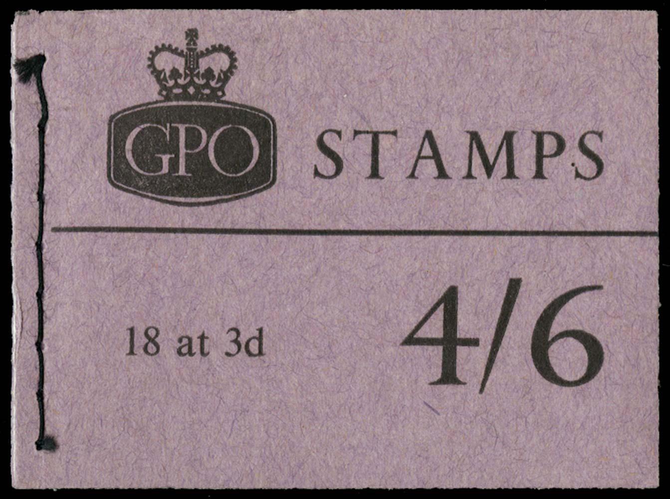 GB 1964  SGL52 Booklet