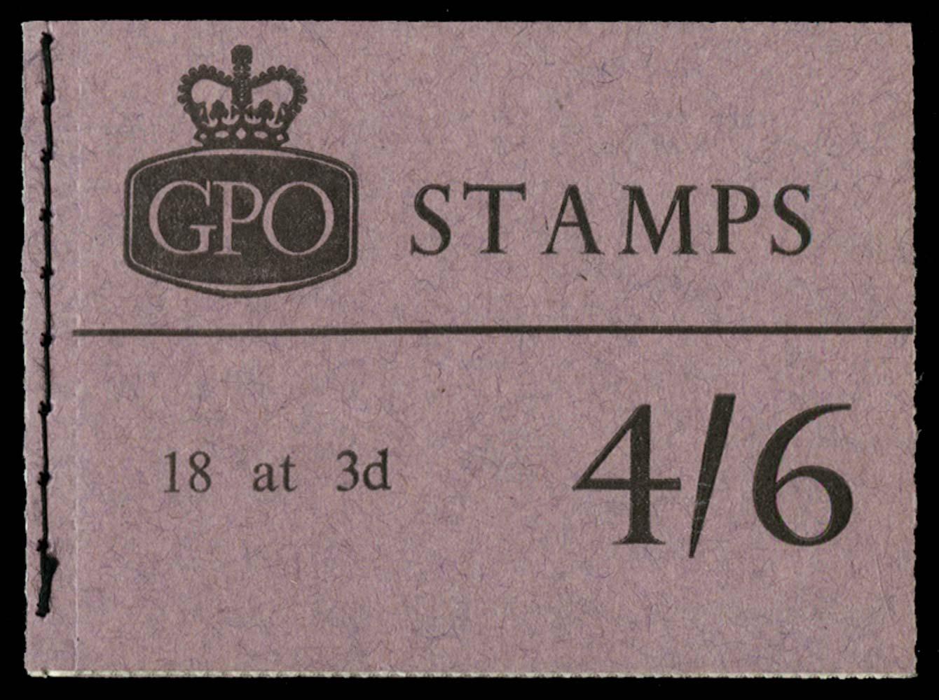 GB 1965  SGL55 Booklet