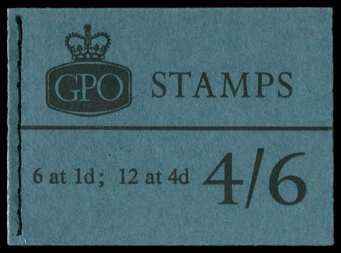 GB 1965  SGL59p Booklet