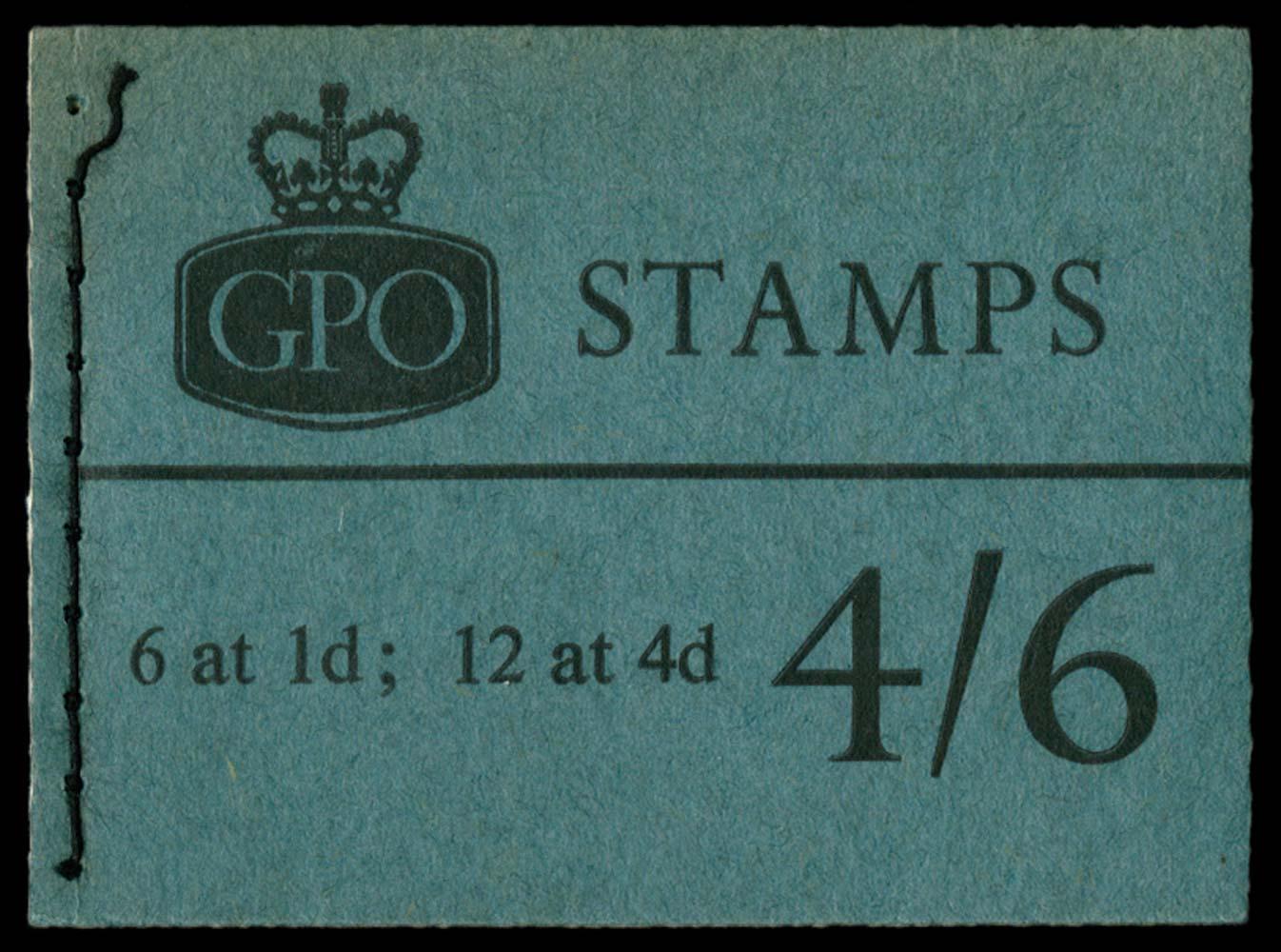 GB 1965  SGL61 Booklet