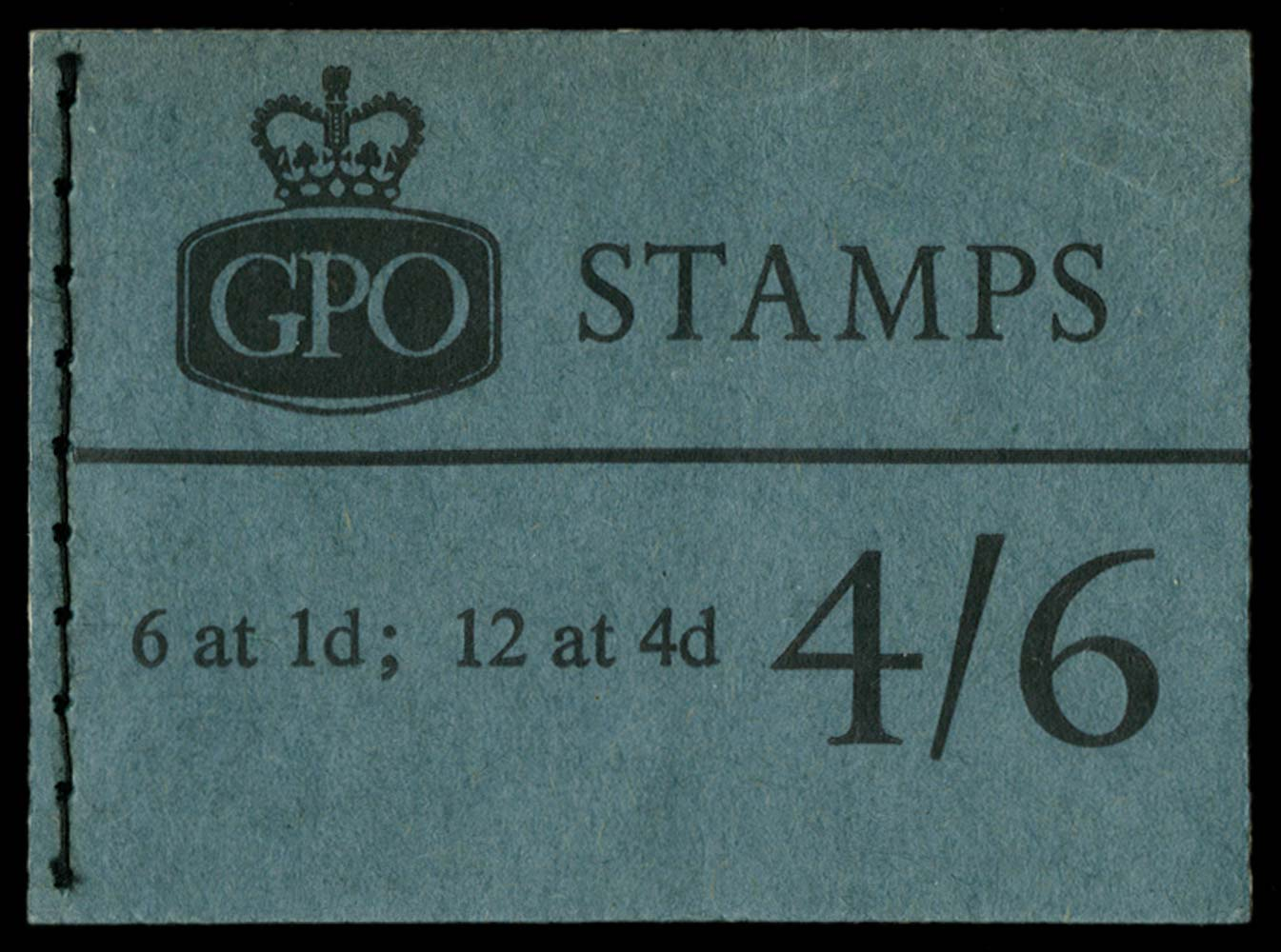 GB 1966  SGL62 Booklet