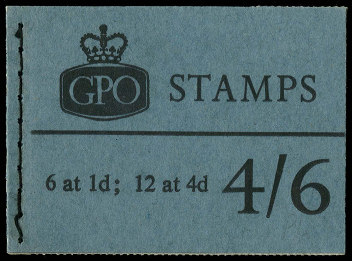 GB 1966  SGL62p Booklet