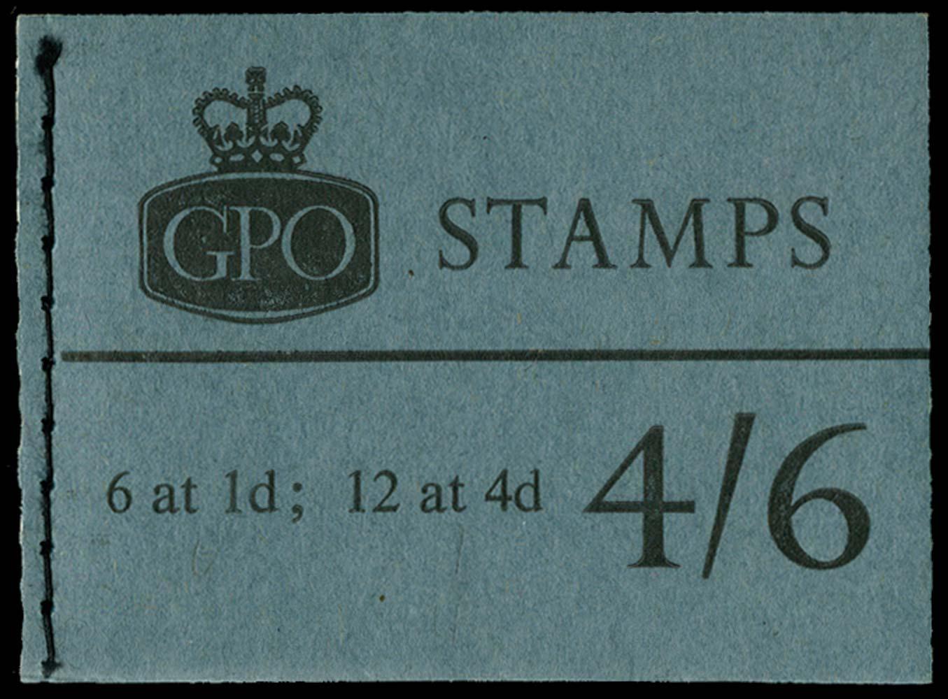 GB 1966  SGL63p Booklet
