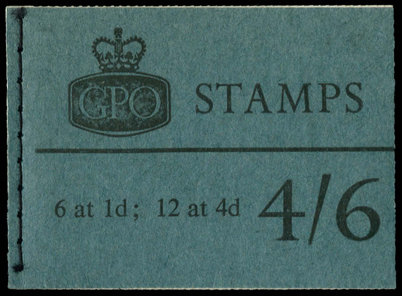 GB 1967  SGL64p Booklet