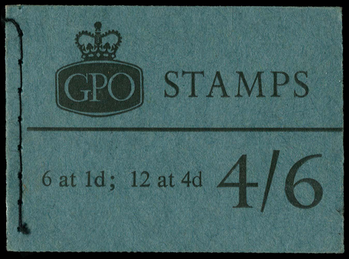 GB 1967  SGL67p Booklet
