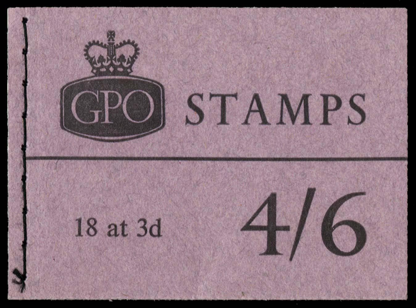 GB 1961  SGL28p Booklet