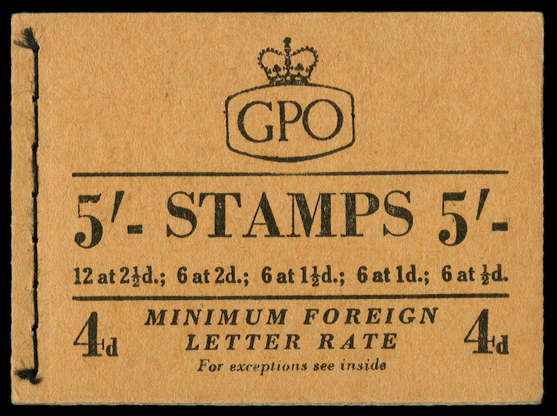 GB 1953  SGH4 Booklet