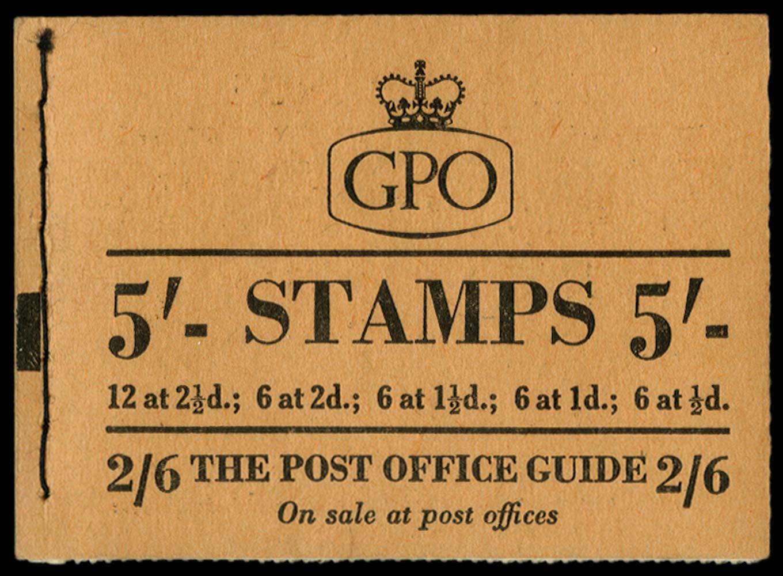 GB 1954  SGH9 Booklet