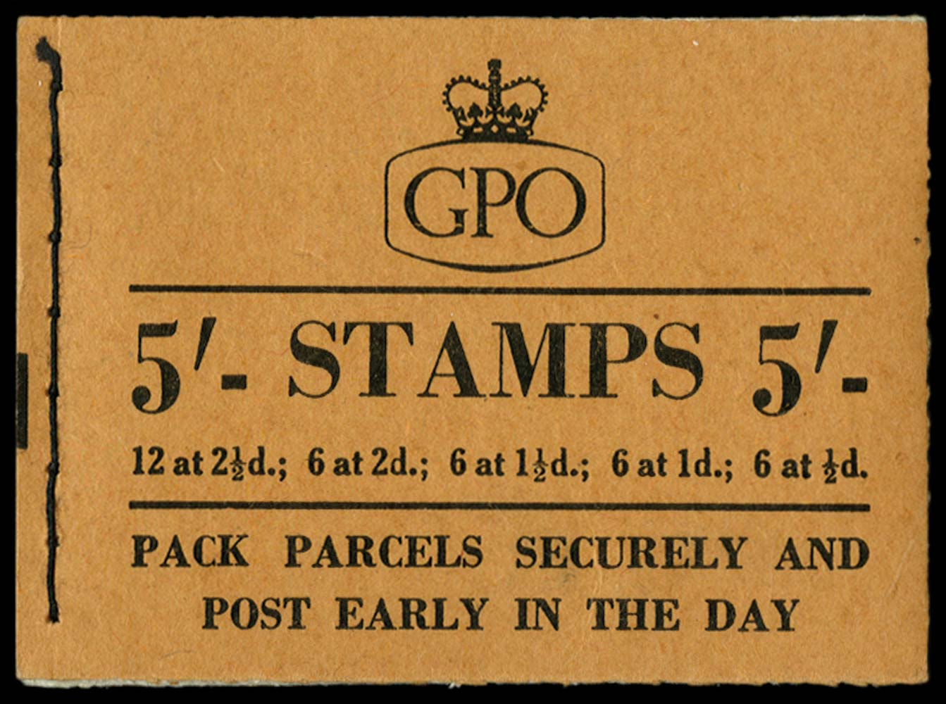 GB 1955  SGH15 Booklet