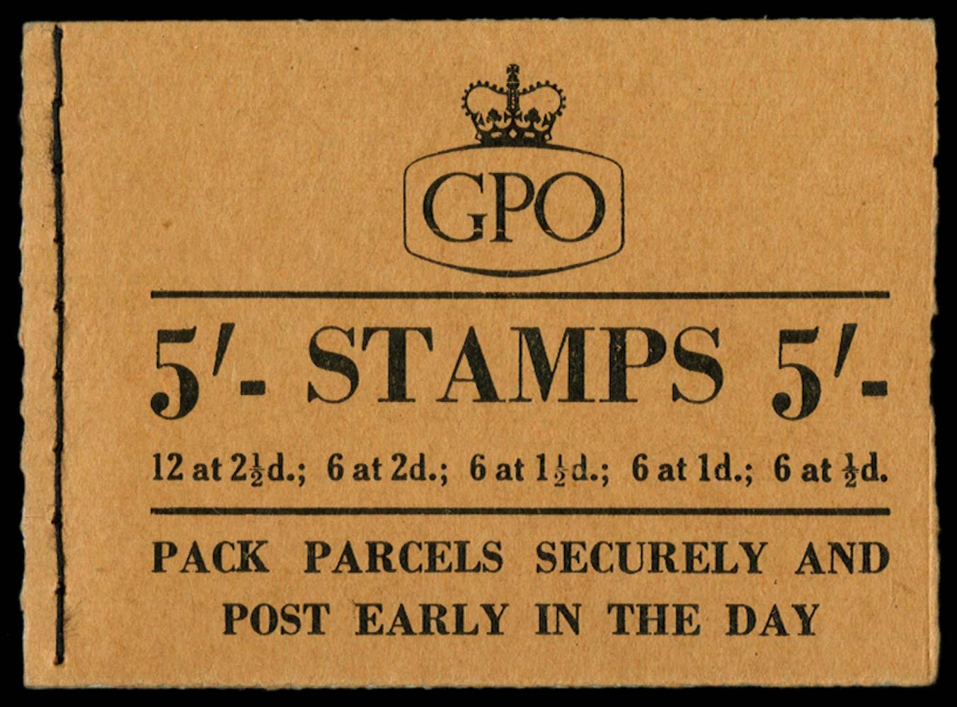 GB 1955  SGH16 Booklet