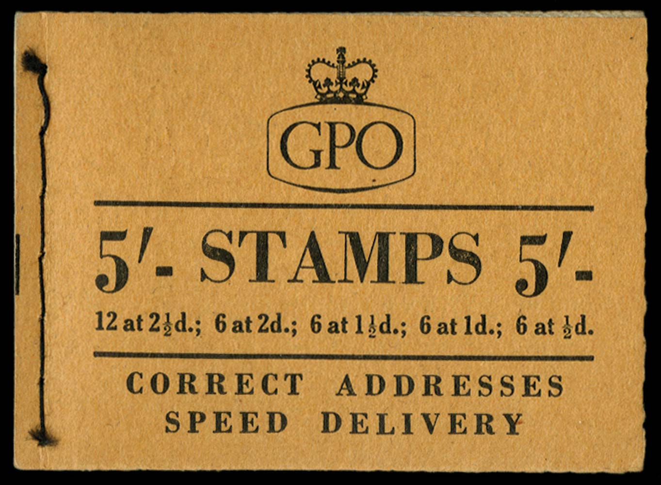 GB 1956  SGH22 Booklet