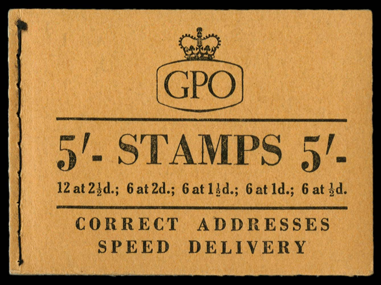 GB 1956  SGH23 Booklet