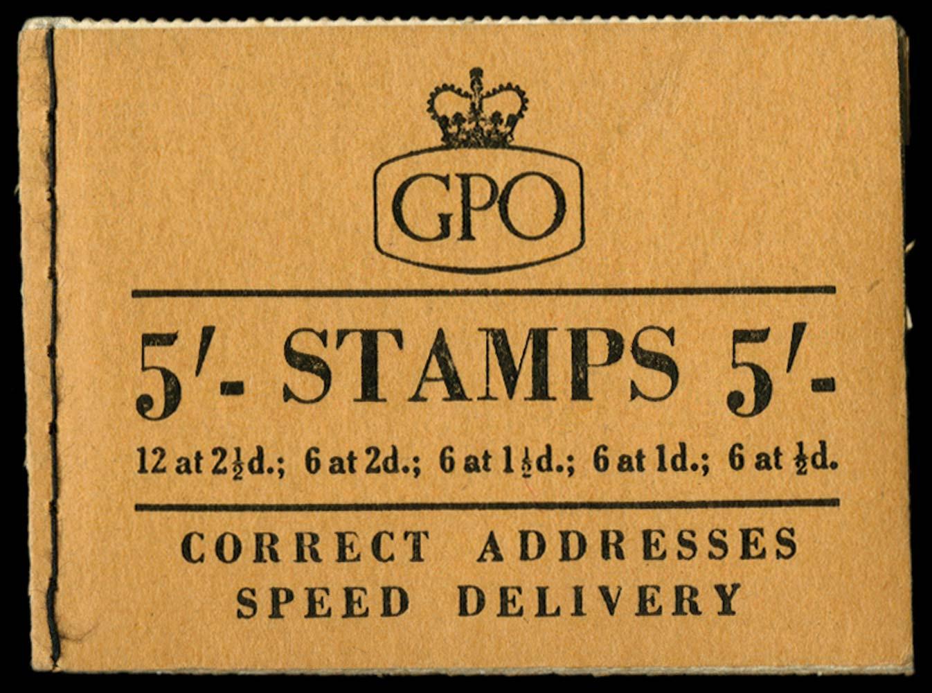 GB 1956  SGH24 Booklet