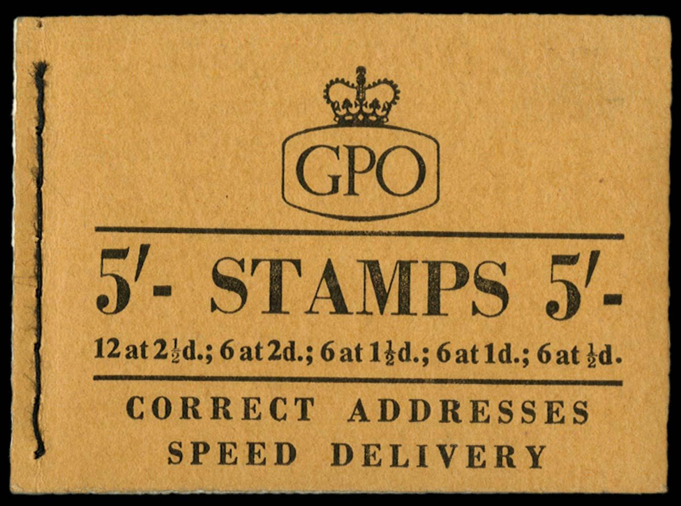 GB 1957  SGH27 Booklet