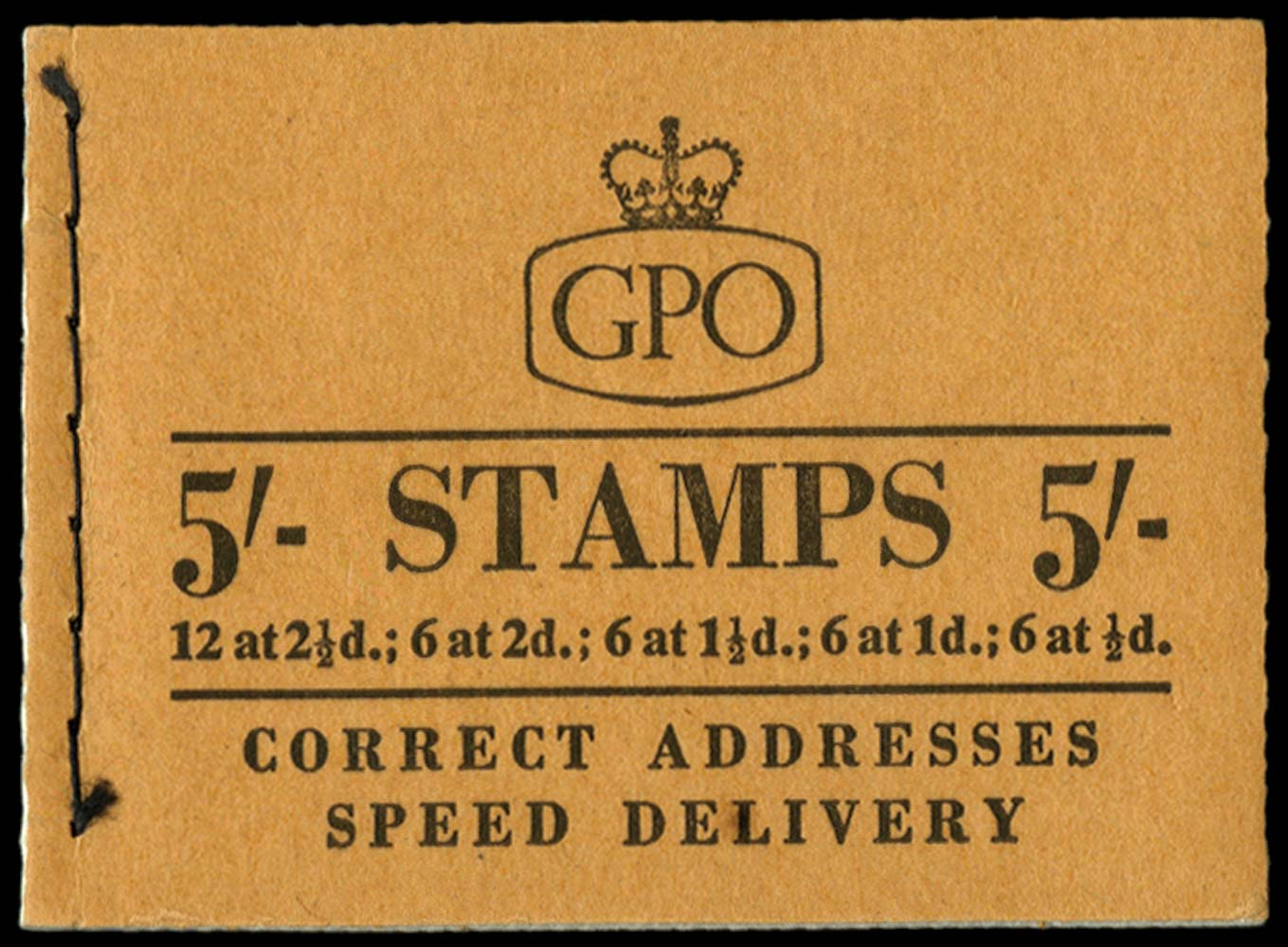 GB 1957  SGH28 Booklet