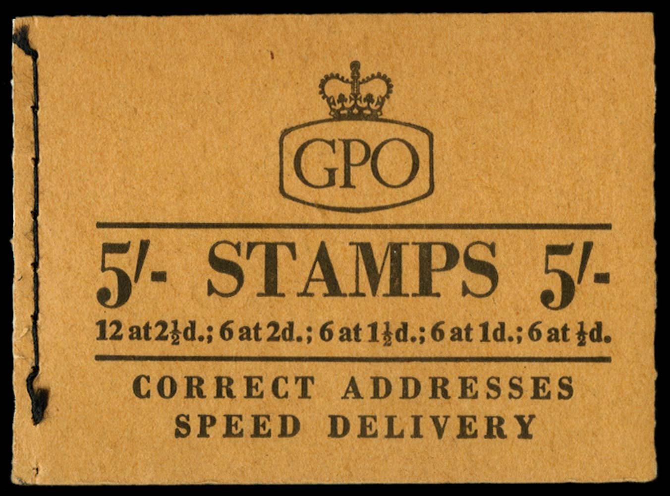 GB 1957  SGH29 Booklet
