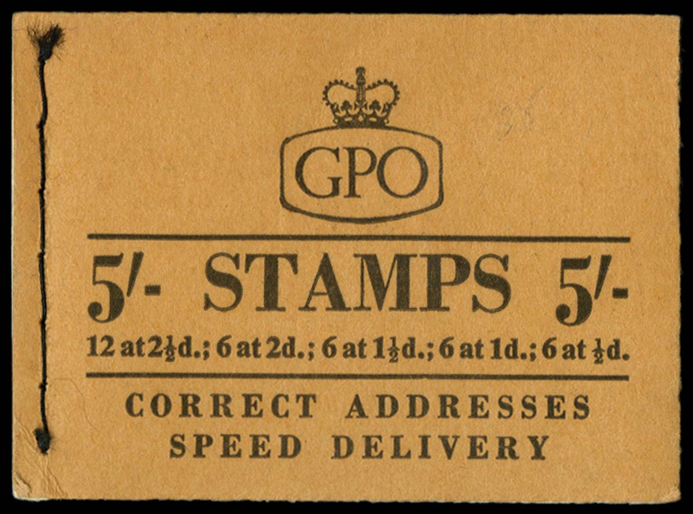 GB 1957  SGH30 Booklet