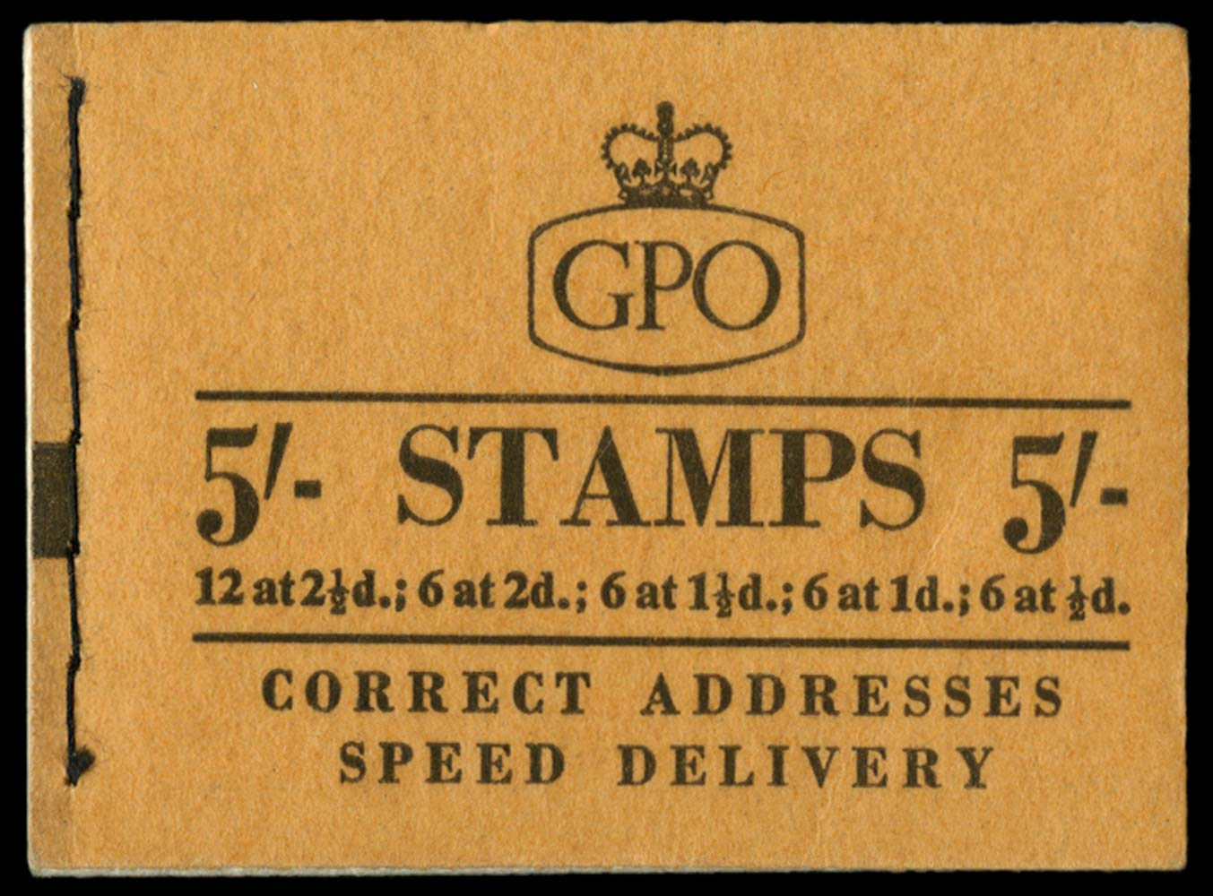 GB 1957  SGH31 Booklet