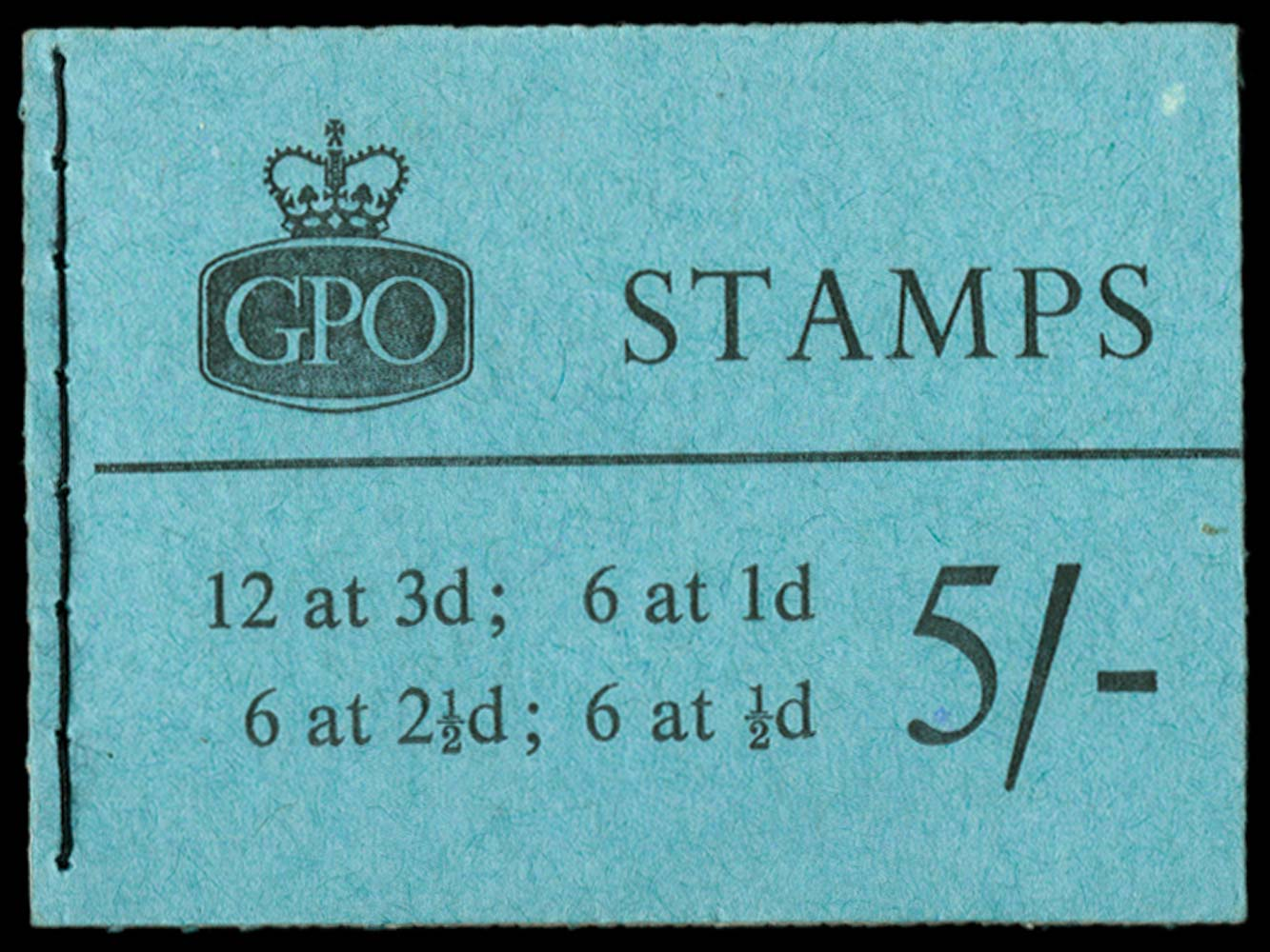 GB 1959  SGH37 Booklet