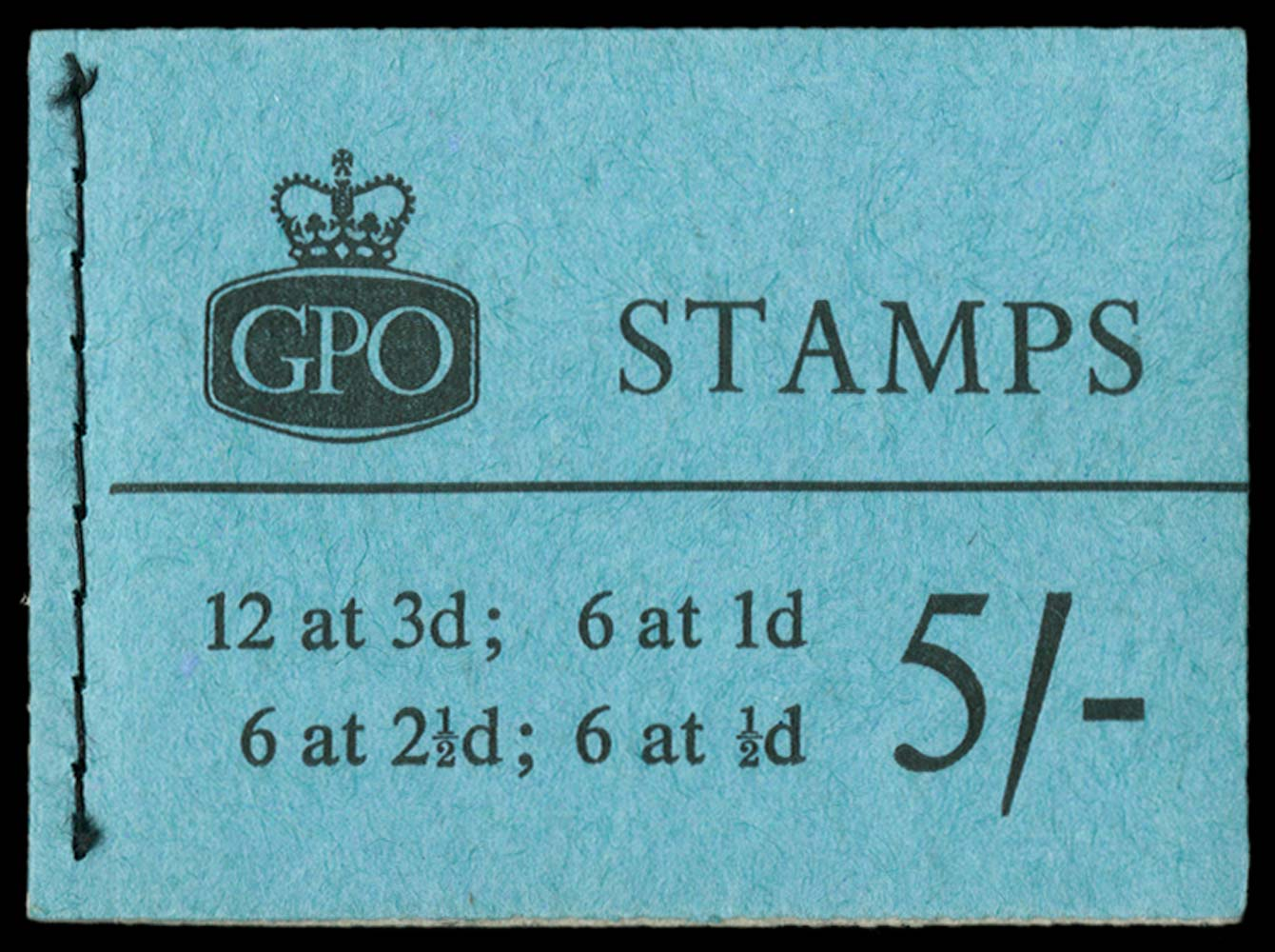 GB 1959  SGH39g Booklet
