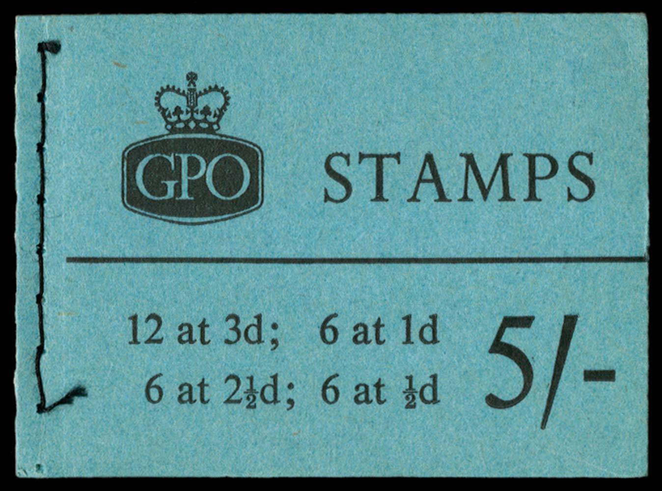 GB 1960  SGH46 Booklet