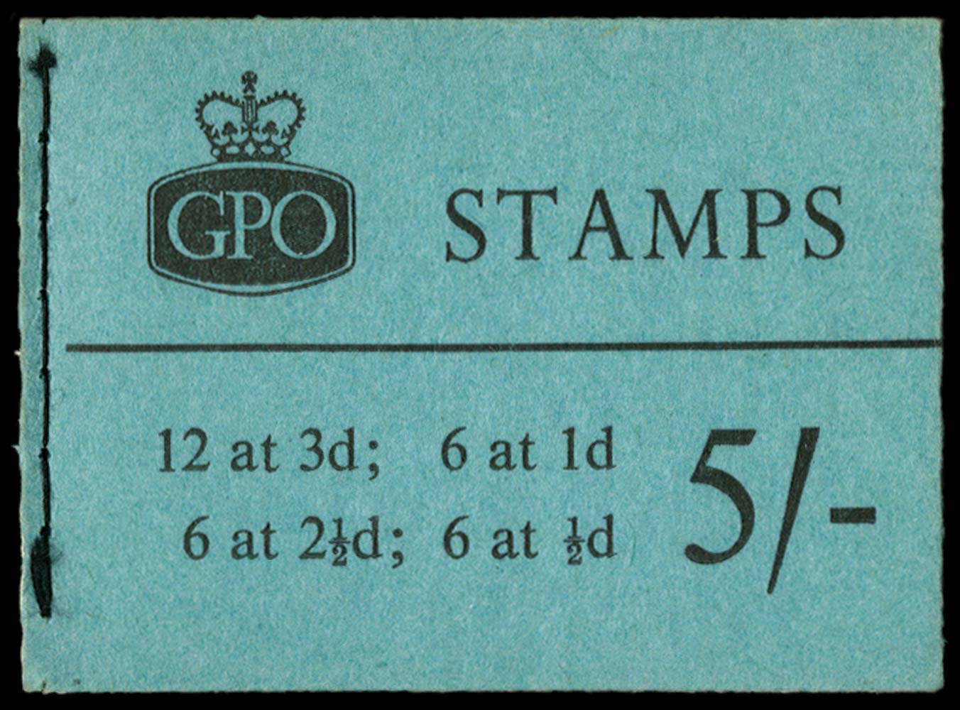 GB 1960  SGH46g Booklet