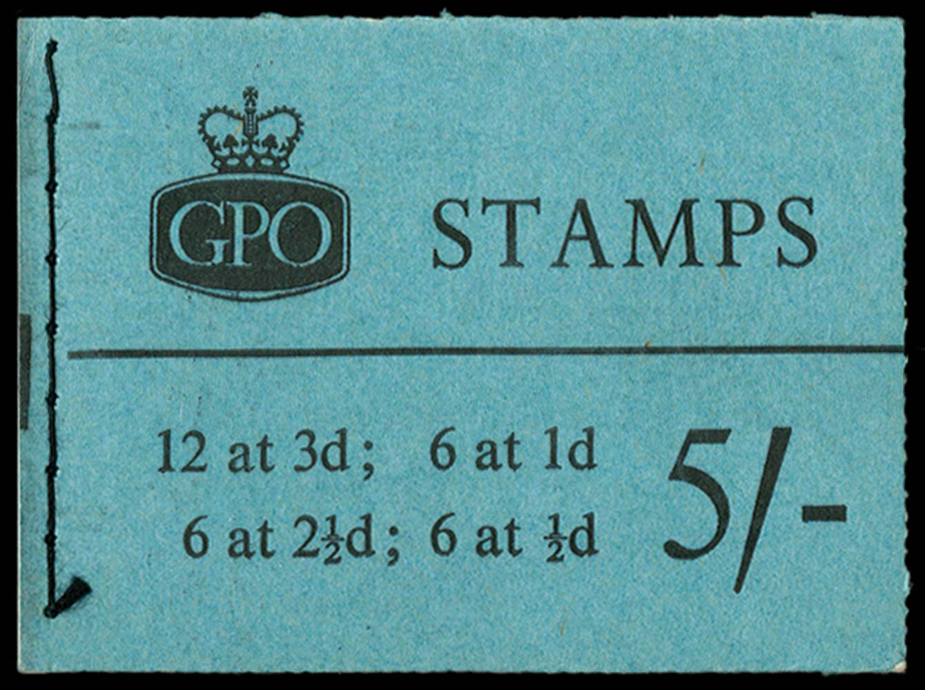 GB 1960  SGH46p Booklet