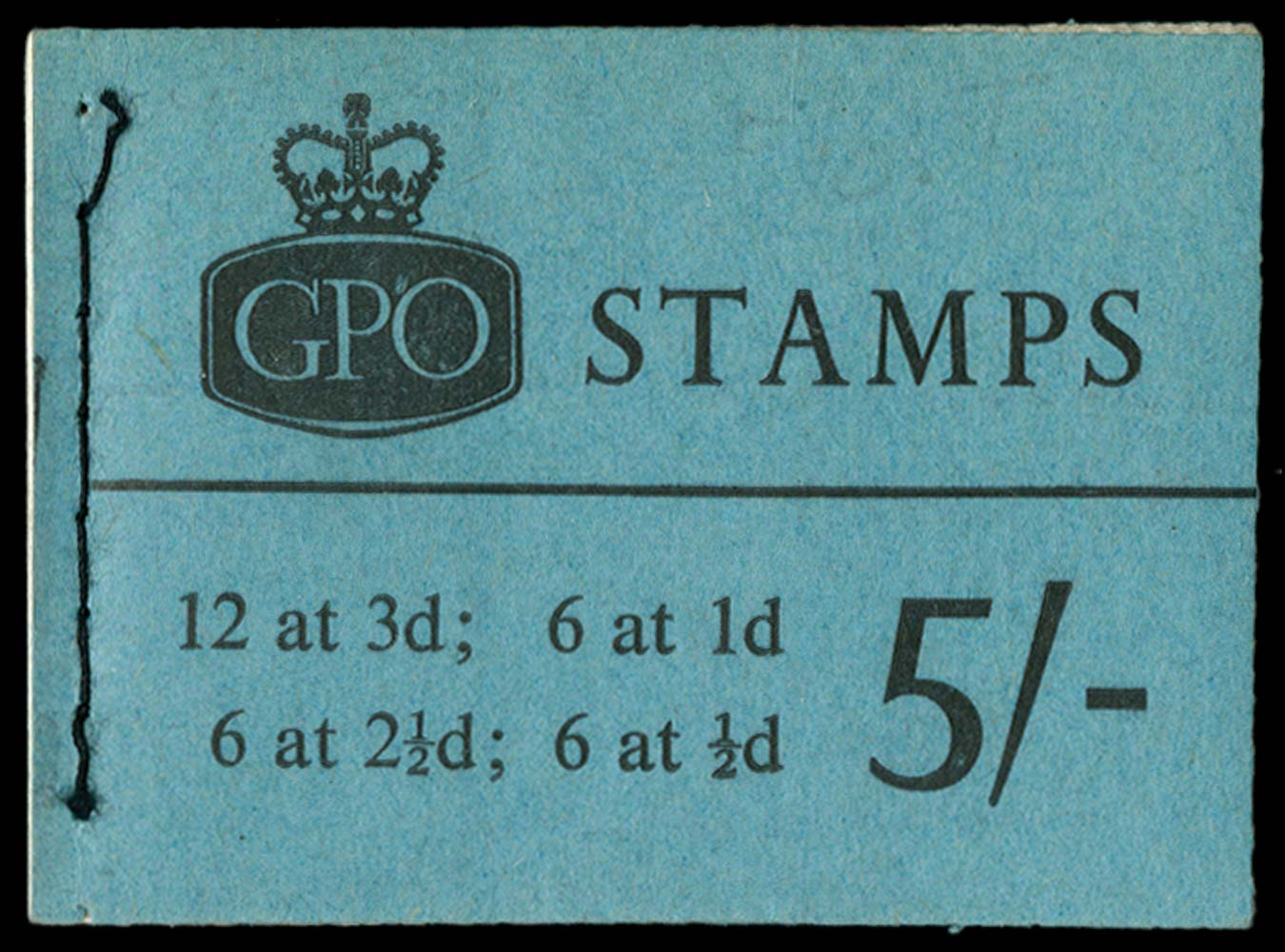 GB 1961  SGH49 Booklet
