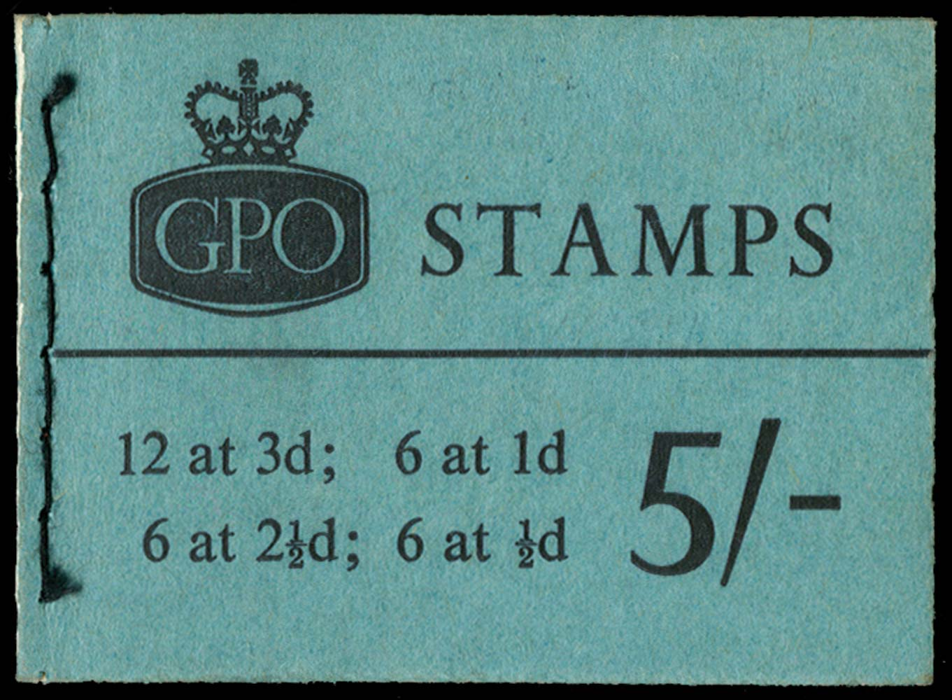 GB 1961  SGH51p Booklet