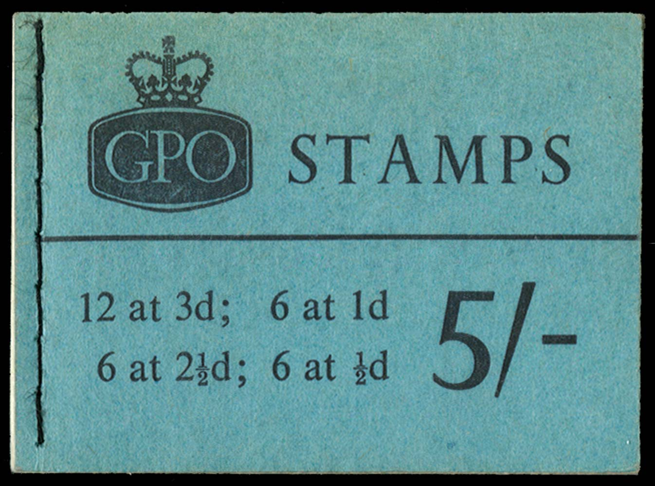 GB 1961  SGH52p Booklet