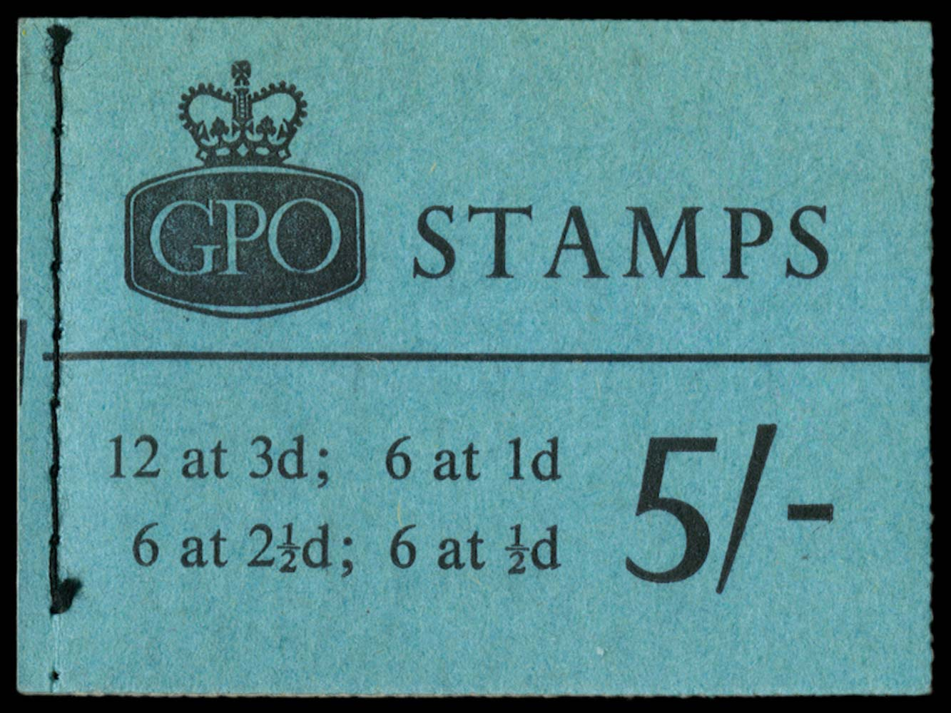 GB 1961  SGH53 Booklet