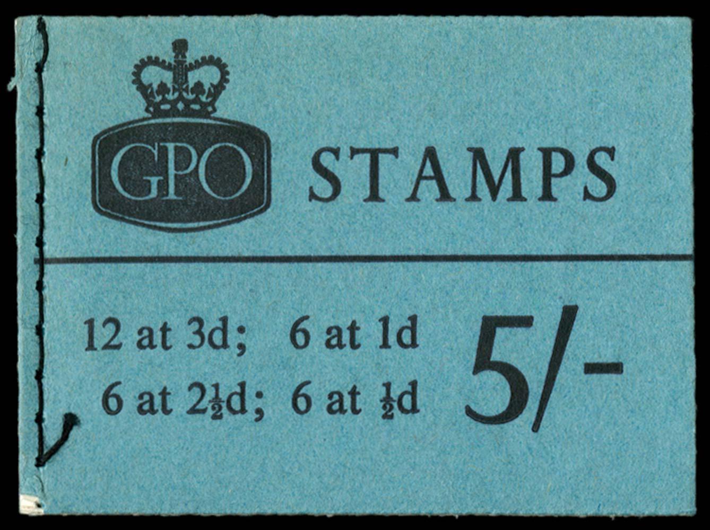 GB 1962  SGH54 Booklet