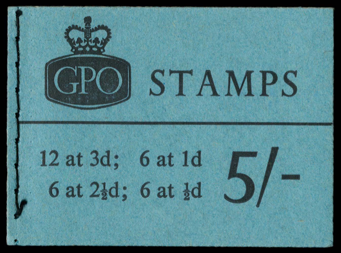 GB 1962  SGH54p Booklet