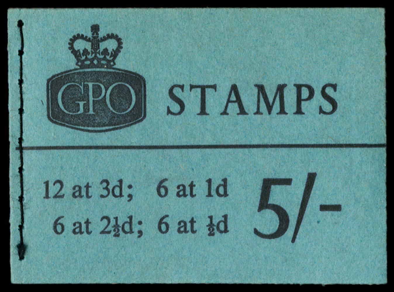 GB 1962  SGH56p Booklet