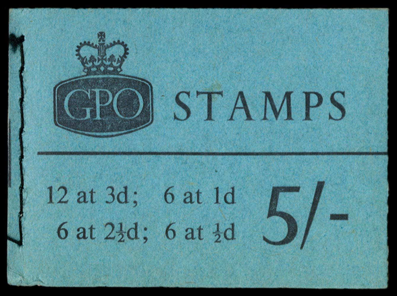 GB 1962  SGH59 Booklet