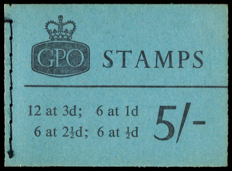 GB 1962  SGH59p Booklet