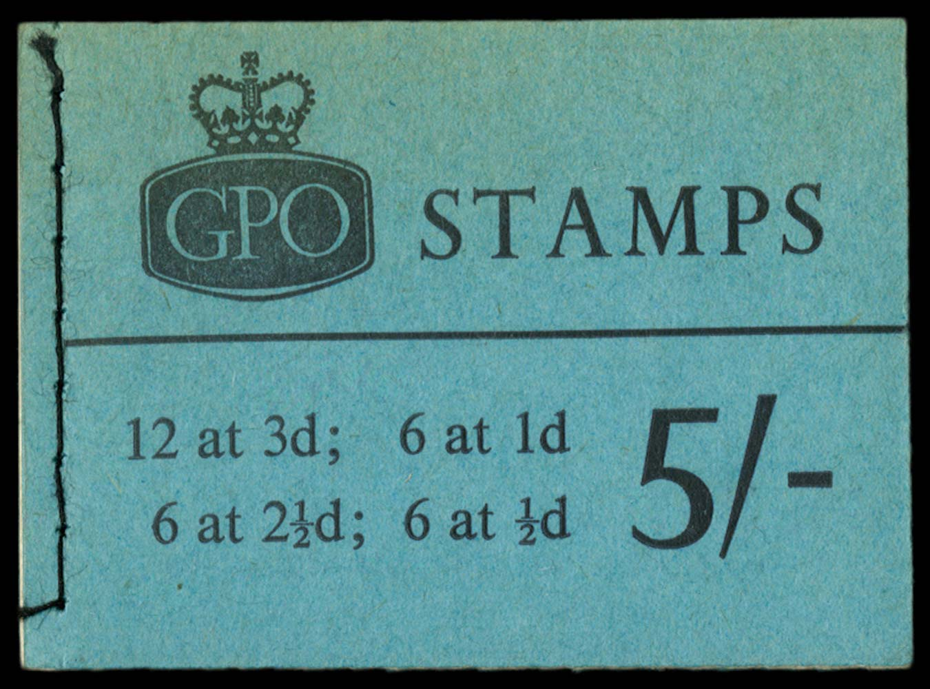 GB 1963  SGH60 Booklet