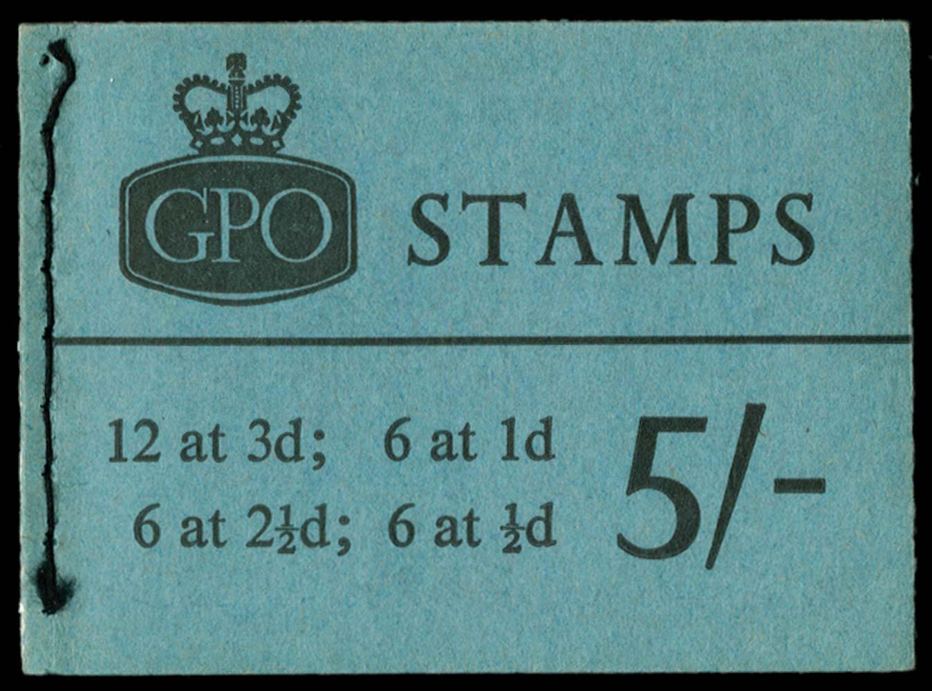 GB 1963  SGH65p Booklet