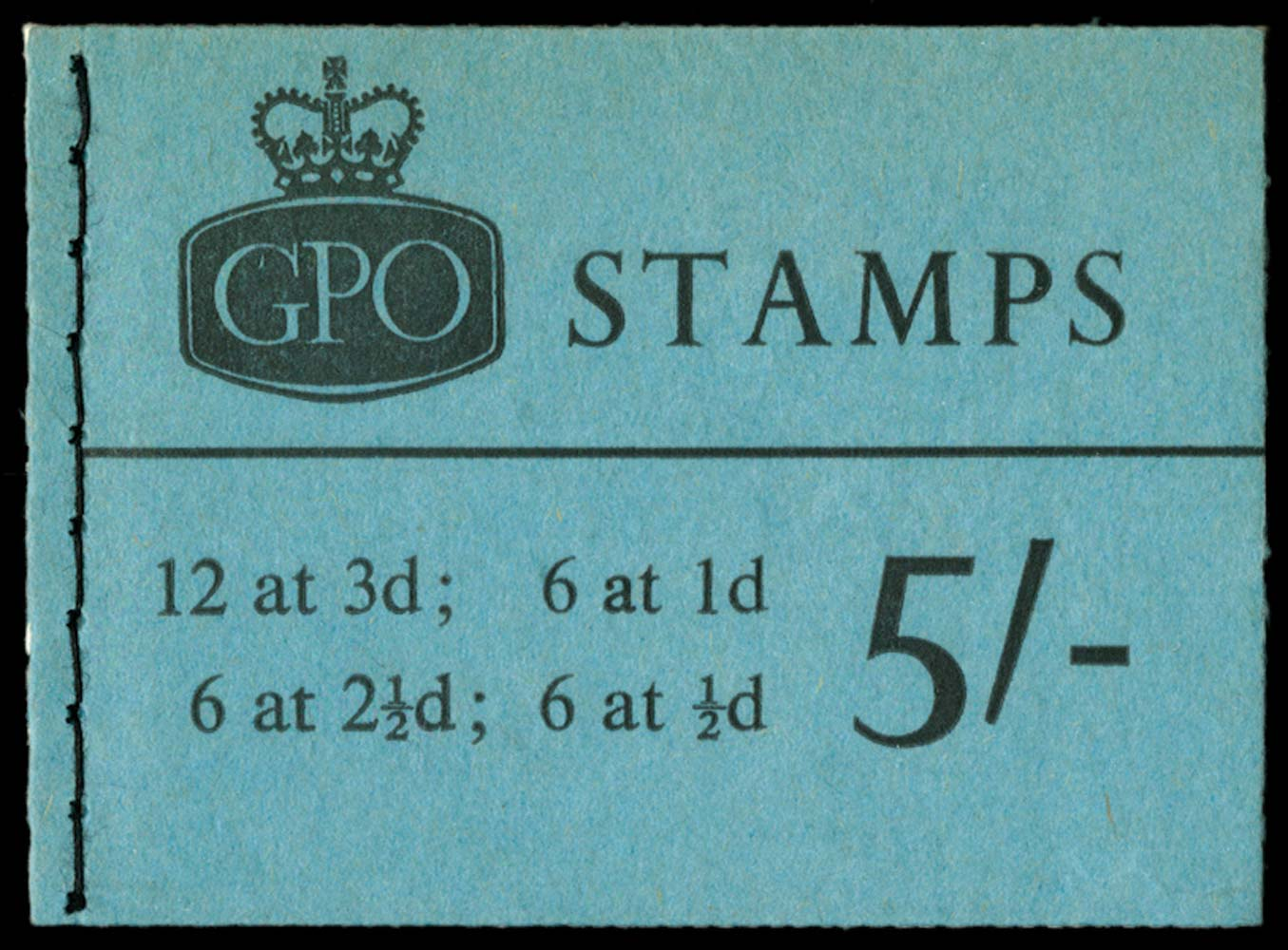GB 1964  SGH70 Booklet