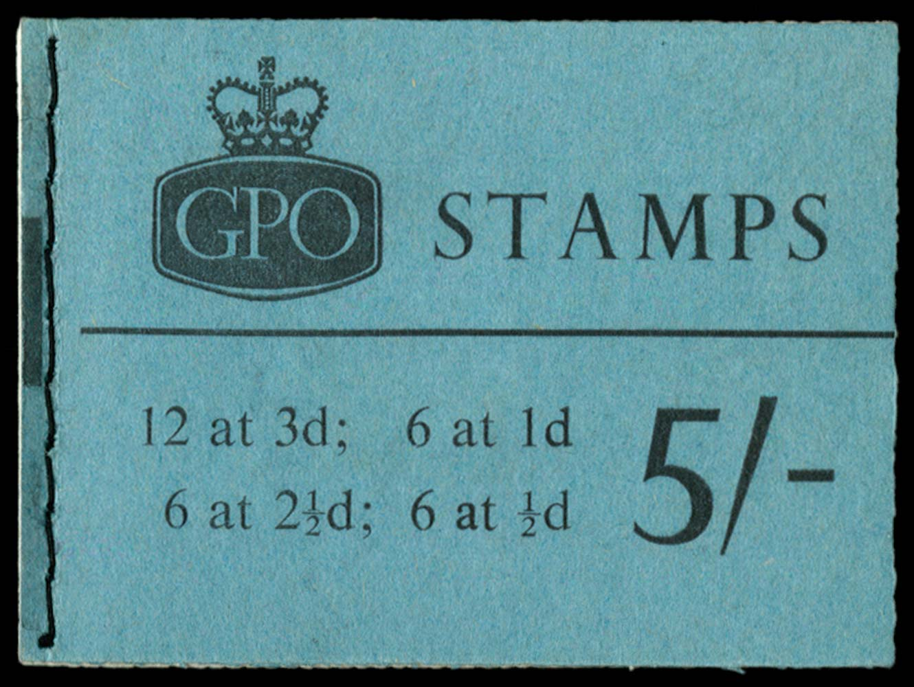 GB 1964  SGH71p Booklet