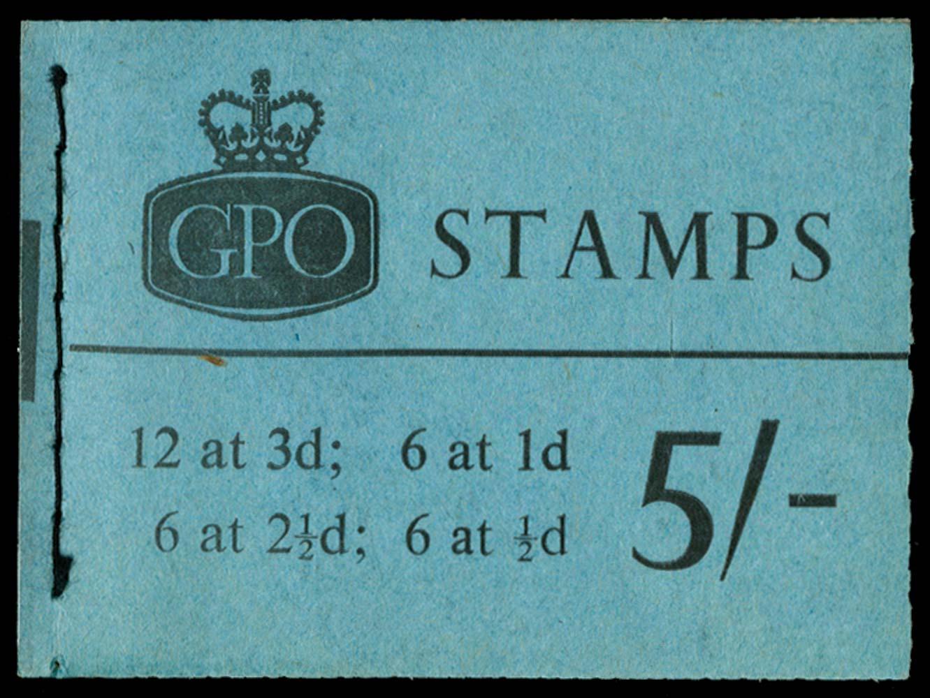 GB 1965  SGH72 Booklet