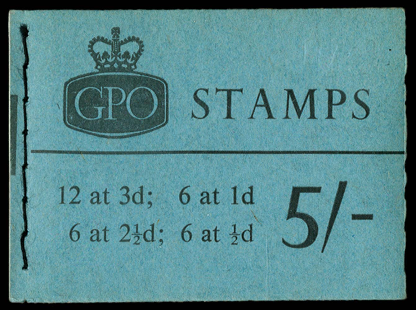 GB 1965  SGH72p Booklet