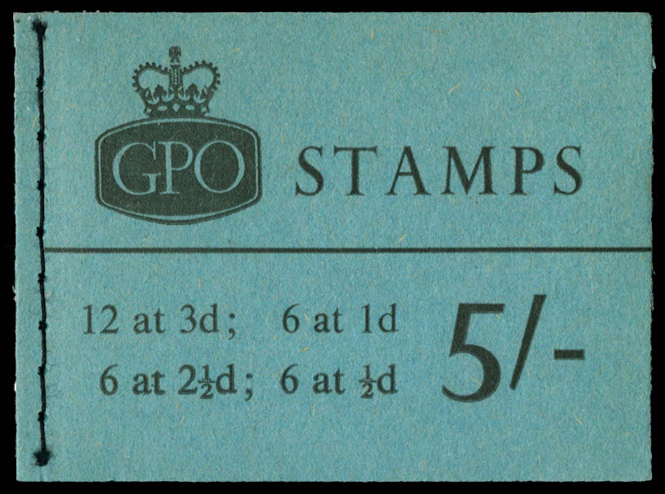 GB 1965  SGH74 Booklet