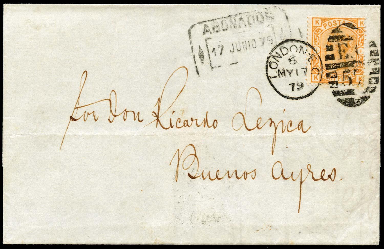 GB 1879  SG156 Pl.1 Cover